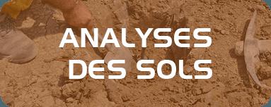Analyses des sols