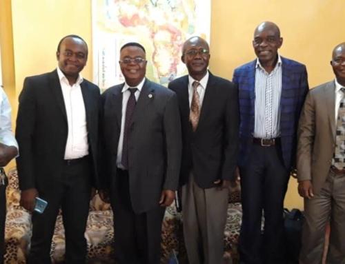 Rencontre avec le directeur du CRGM de Kinshasa